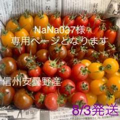 "Thumbnail of ""★専用★ 信州安曇野産 ミニトマト 1.2kg オマケ付き"""