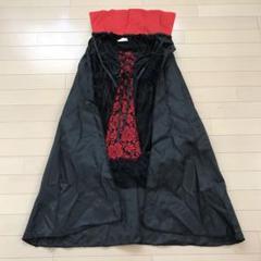 """Thumbnail of """"7.6 ドレス マントセット コスプレ ハロウィン 魔女 黒 レース 薔薇 S"""""""