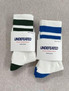 """Thumbnail of """"UNDEFEATED アンディフィーテッド ソックス 靴下 2足セット"""""""