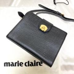 """Thumbnail of """"極美品 marie claire マリクレール ショルダーバッグ ターンロック"""""""