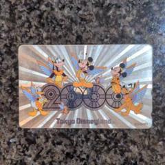 """Thumbnail of """"ディズニー2000年ミレニアム記念テレホンカード"""""""