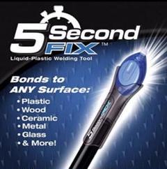"Thumbnail of ""5 Second FIX 液体プラスチック溶接剤 紫外線を当てると5秒で固まる"""