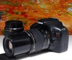 "Thumbnail of ""Canon EOS KISS X4 Wレンズ 望遠 初心者オススメ スマホ転送"""
