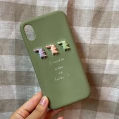 "Thumbnail of ""iPhoneXRケース  ワニ"""