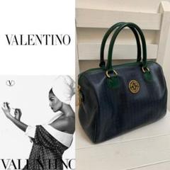 "Thumbnail of ""VALENTINO VINTAGE ITALY製 Vロゴ レザーボストンバッグ"""