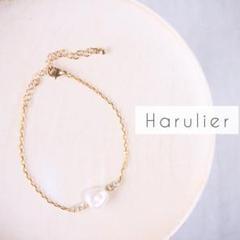 "Thumbnail of ""[004]Pearl ✾ Bracelet 大粒パールの華奢ブレスレット"""