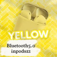 "Thumbnail of ""inpods12黄色♪ Bluetooth5.0 ワイヤレスイヤホン"""