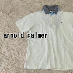"""Thumbnail of """"アーノルドパーマー クラシックスタイル ゴルフウェア ポロシャツ ホワイト 3"""""""