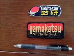 """Thumbnail of """"がまかつ 釣研ワッペン"""""""