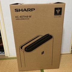 "Thumbnail of ""SHARP 加湿空気清浄機 ホワイト KC-40TH4-W"""