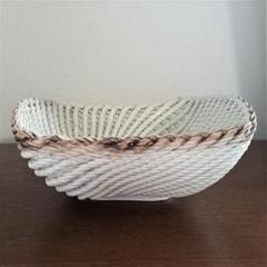 "Thumbnail of ""イタリア製 陶器バスケット 【8月8日迄の出品となります】"""