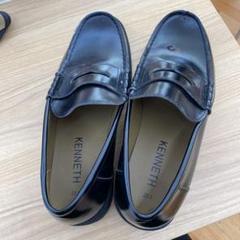 "Thumbnail of ""HARUTA 型ローファー 黒 28cm 学生靴"""