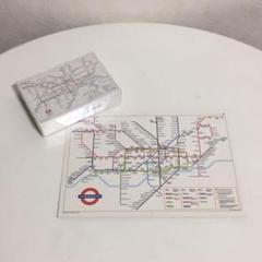 "Thumbnail of ""イギリス ロンドン 地下鉄 UNDERGROUND ポストカード トランプ"""