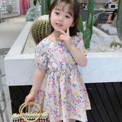 "Thumbnail of ""韓国子供服 Flower Dress Onepiece〔新品/90〕"""
