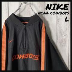 "Thumbnail of ""【NCAA L】ナイキ NIKE 刺繍 カウボーイズ ナイロン ゲームシャツ 黒"""