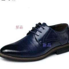 """Thumbnail of """"新作 ビジネスシューズ メンズ 革靴 結婚式 パーティー プレーントゥ202"""""""""""