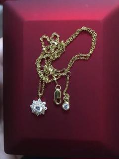 "Thumbnail of ""[希少品]高品質18 Kゴールドダイヤモンドネックレス"""