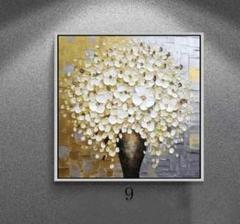 "Thumbnail of ""純粋な手描きの絵画 花 応接間掛画 玄関飾り 廊下壁画"""