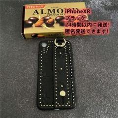 韩国大人気iPhone1XR ケース花柄アイフォンケース ブラック7