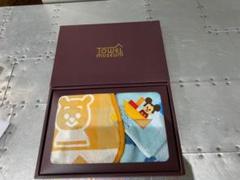 "Thumbnail of ""スタイとタオルのセット ミュージアム 今治 ディズニー プーさん ミッキーマウス"""