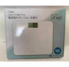 "Thumbnail of ""【新品 未開封】体重計 Body scale Glasse(BS-180WT)"""