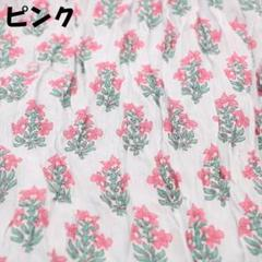"Thumbnail of ""【大幅値下げ】 小花柄 ストール (薄手,インド綿)"""