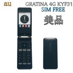 "Thumbnail of ""SIMフリー GRATINA 4G KYF31【au 京セラ】ブラック G94"""