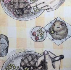 """Thumbnail of """"絵画 ディナー 原画"""""""
