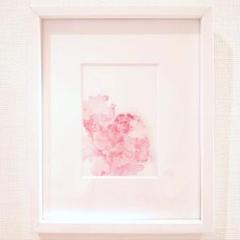 "Thumbnail of ""【原画】個展出品作品 ~幸せを呼ぶ花~ ピンク"""