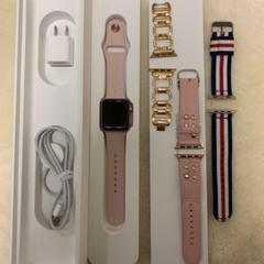 "Thumbnail of ""Apple Watch SERIES3 38mm pink sand"""