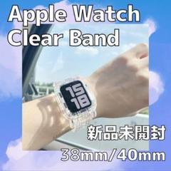 "Thumbnail of ""Apple Watch ベルト クリアバンド アップルウォッチ 透明 韓国"""