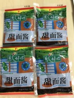 "Thumbnail of ""欣和 葱伴侶 甜面酱 甜麺醤 テンメンジャン 甜面醤 180g X 4袋 セット"""