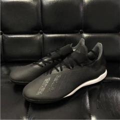 "Thumbnail of ""adidas x18.3 フットサルシューズ 28 ブラック"""