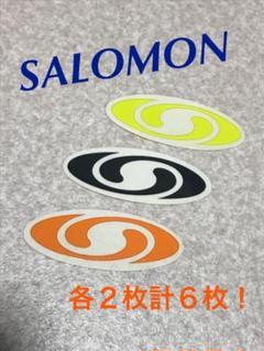 """Thumbnail of """"SALOMON サロモン ステッカーシール 各2枚!"""""""