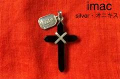 "Thumbnail of ""オニキスx silver925 ネックレスチャーム imac"""