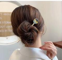 "Thumbnail of ""ヘアアクセサリーかんざし簪髪飾り一本 銀 hair clasp silver"""