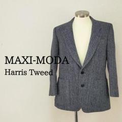 """Thumbnail of """"日本製 MAXI-MODA ハリスツイード テーラードジャケット グレー A4"""""""