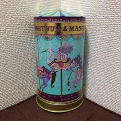 "Thumbnail of ""フォートナム&メイソン オルゴール 菓子缶 青山デカーボ ジュエリー缶"""