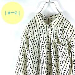 "Thumbnail of ""タグ付き美品 定価¥11,800 デザインアートシャツ ドット 多ボタン"""