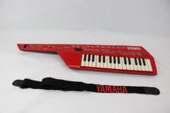 "Thumbnail of ""YAMAHA デジタルキーボード  SHS-10R  レッド 32鍵"""