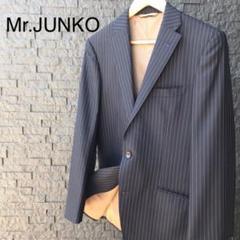 "Thumbnail of ""【Mr.Junko】スーツジャケット 黒 ライン入り"""