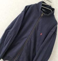 "Thumbnail of ""90s Polo Ralph Lauren ワンポイント スウェット 紺 L程"""