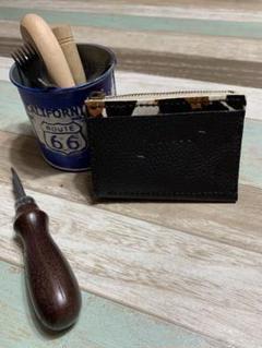 """Thumbnail of """"本革手縫い。小銭、カード入れ"""""""