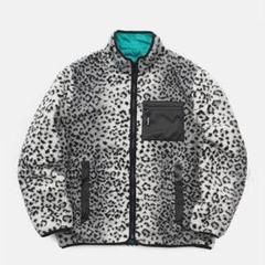 supreme leopard fleece reversible jacket