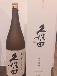 "Thumbnail of ""1800ml 純米大吟醸 720ml 久保田 萬寿"""