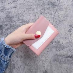 "Thumbnail of ""34☆即日発送☆ミニ財布 名刺入 カードケース 定期入 大容量パスケース ピンク"""