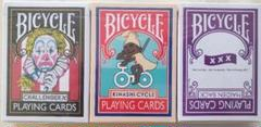 """Thumbnail of """"BICYCLE トランプ アパレル系 3個まとめて"""""""