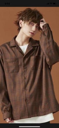 """Thumbnail of """"ほぼ新品ADRERドルマンスリーブオープンカラーシャツ☆サイズM"""""""