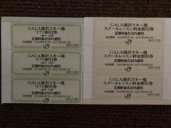 """Thumbnail of """"GALA湯沢スキー場 スクールレッスン料金割引券 リフト割引券"""""""