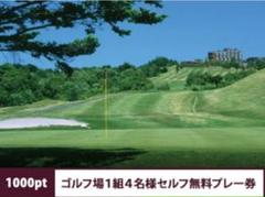 "Thumbnail of ""シャトレーゼ ゴルフ場1組4名様セルフ無料プレー券"""